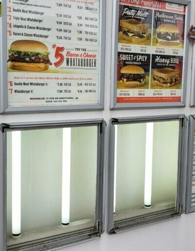 drive thru menu boards installation texas